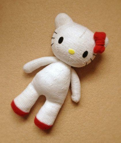 Hướng dẫn đan mèo  Hello Kitty