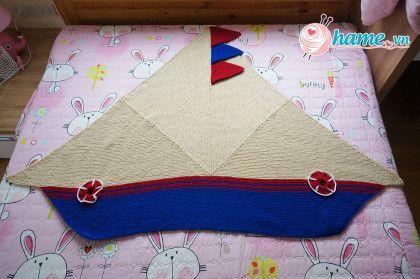 Hướng dẫn đan chăn ra khơi