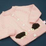 Hướng dẫn đan áo con cừu