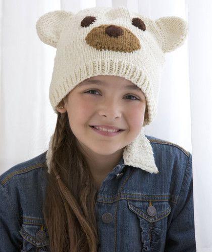 Hướng dẫn đan mũ gấu trắng