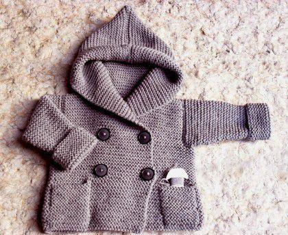 Hướng dẫn đan áo khoác bé Sam