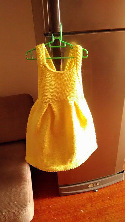 Hướng dẫn đan váy Honey- dịch song ngữ