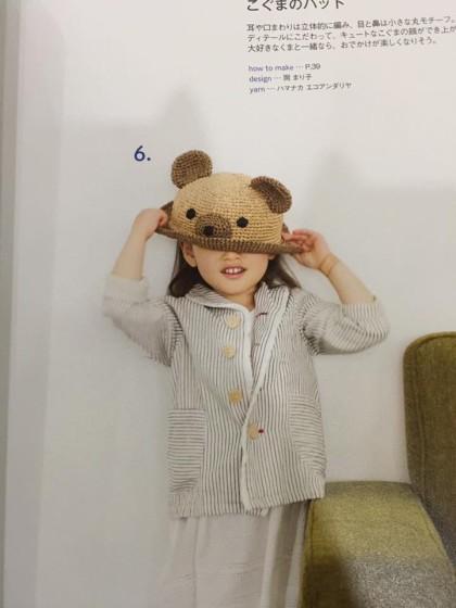 Hướng dẫn móc mũ gấu mùa hè cho bé cưng